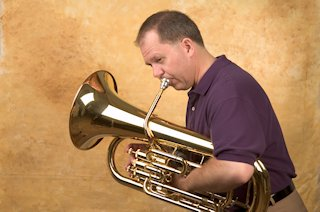 norlan bewley playing the euphonium